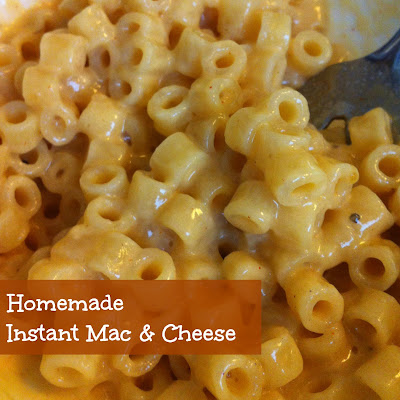 Sunshine Maker Meg: Homemade Instant Mac & Cheese