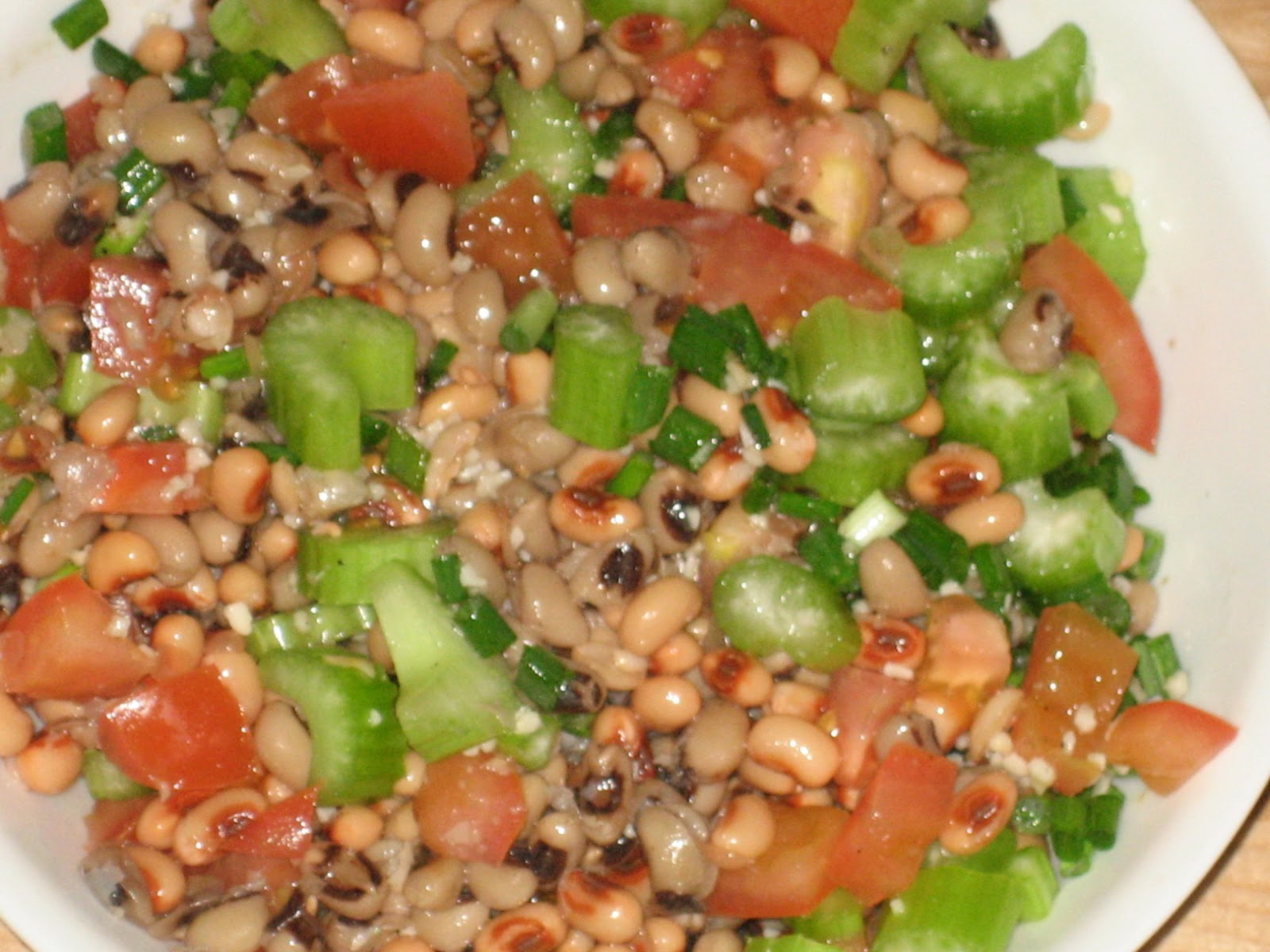 stuffedveggies: Black-Eyed Pea Salad
