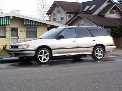 Subaru Legacy Subaru SVX punto es