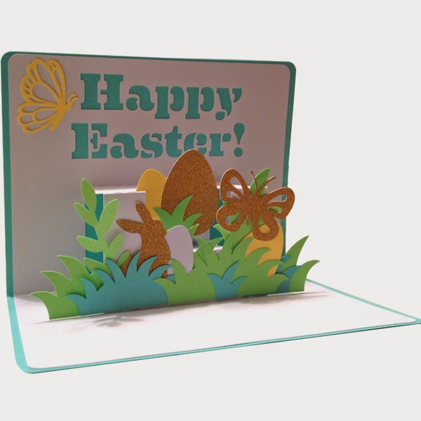 Sophie Gallo Design Blog Pop Up Cards in my Silhouette Store – Easter Pop Up Cards