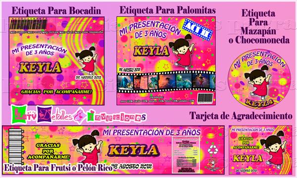 Detalles e invitaciones x Letici@ B.: Kit´s y Etiketas