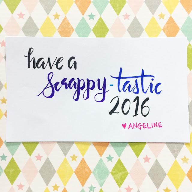 ScrappyScrappy: Have a scrappy-tastic 2016! #scrappyscrappy #happynewyear #newyear2016