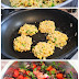 How To Make Quinoa & Corn Griddle Cakes With Black Bean Salsa