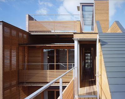 Japan Wood House 02