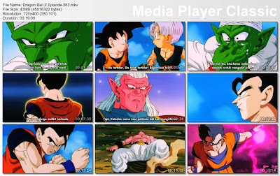Download Film / Anime Dragon Ball Z Majin Buu Saga Episode 263 Bahasa Indonesia