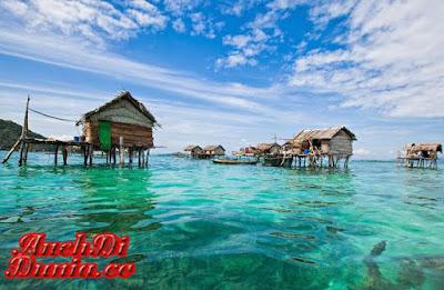 Uniknya Suku Gipsi Laut Di Filipina
