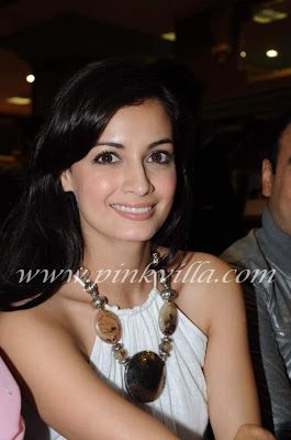Hot Diya Mirza In White