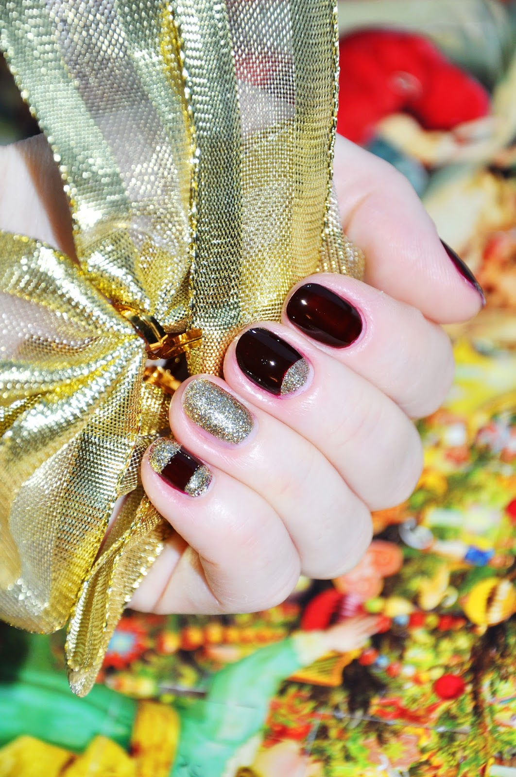OPI Visions of Love All Sparkly and Gold