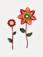 Цветя от ягоди и малини