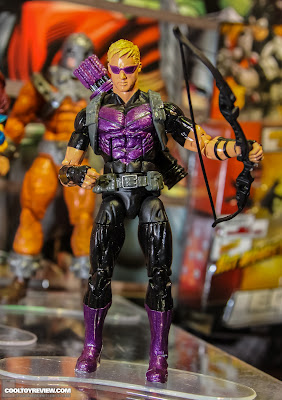 Hasbro 2013 Toy Fair Display Pictures - Marvel Legends - Modern Hawkeye