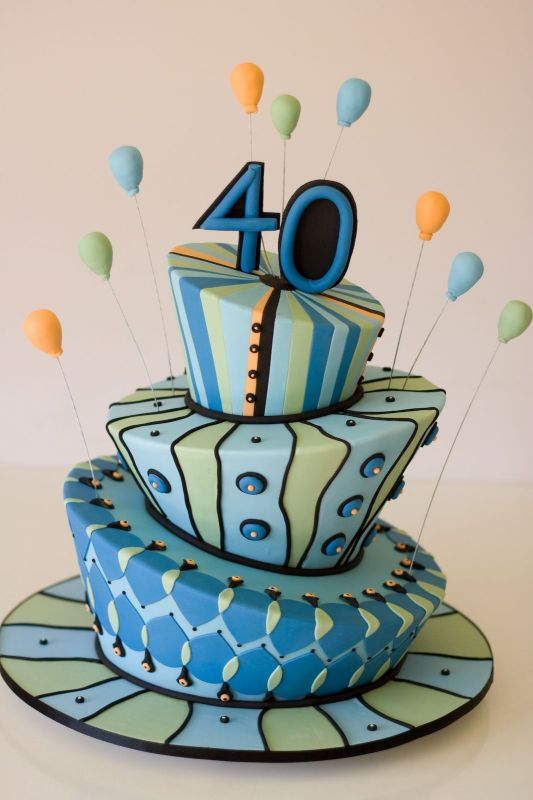 cake ideas for birthdays. 40th Birthday Cake Ideas.