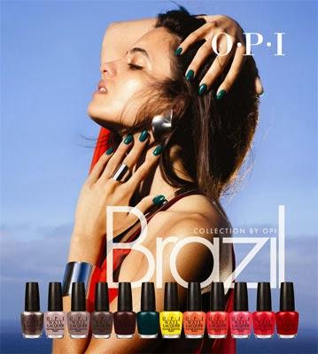 esmaltes de uñas OPI Brazil colección primavera verano 2014