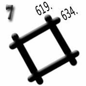 Ejemplo 7: Clave de superposición de las coordenadas Lambert