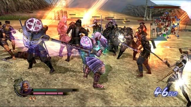 Samurai Warriors 2 PS2 Gameplay