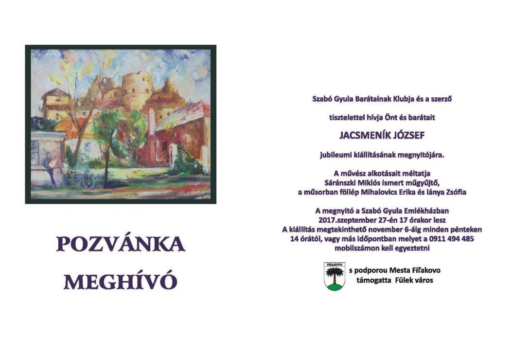 Kiállításmegnyitó a Szabó Gyula Emlékházban