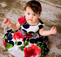 Cute Girl Babies Images With Colourful Frock Baby Pictures