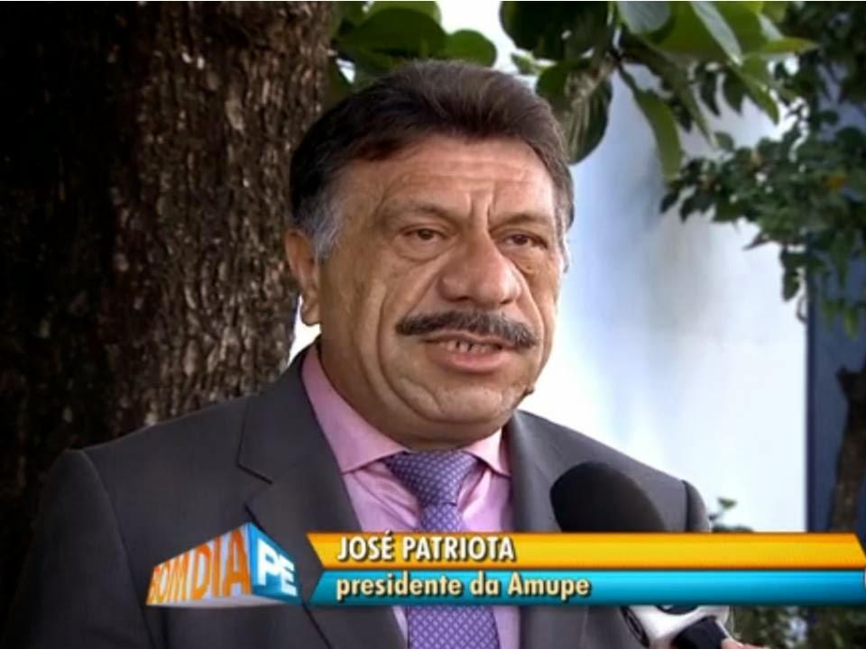 José Patriota - Presidente da AMUPE