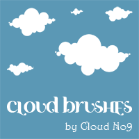 Free Cloud Brushes ver.1 for PS 7.0
