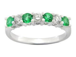 EmeraldRings whitegoldrings gold rings engagementrings goldrings stonerings stonejewellery2528112529 - Emerald Rings