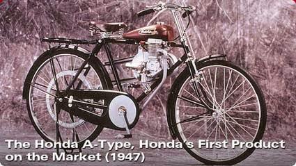 Sepeda Bermotor Honda Cub  A-type