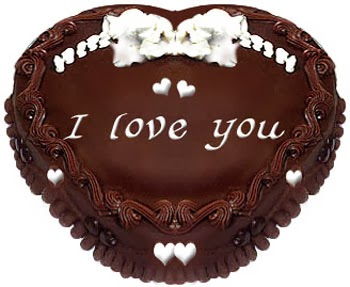 Tạo hình socola - chocolate có chữ I Love You
