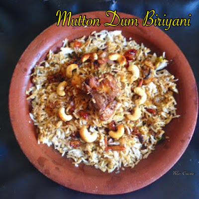 Mutton Dum Biriyani
