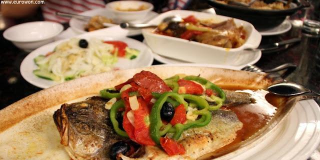 Comida portuguesa en Macao