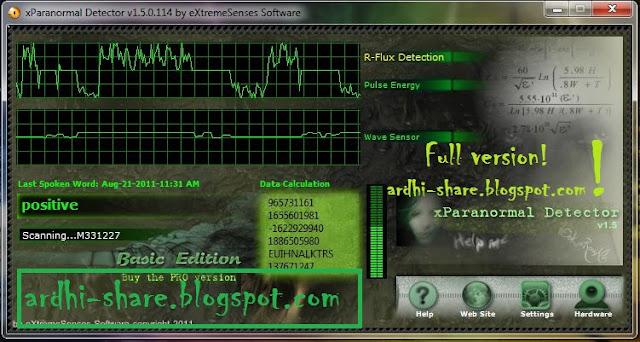 Mendeteksi Hantu Dengan XParanormal Detector