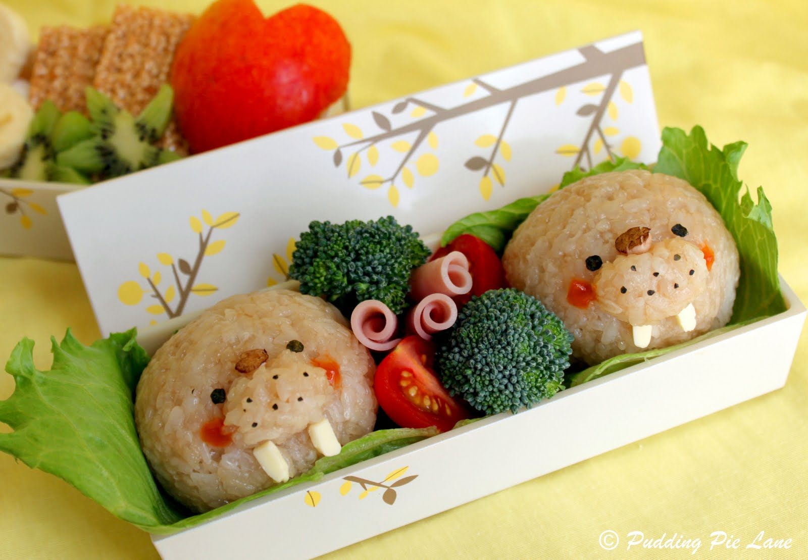 Walrus bento box