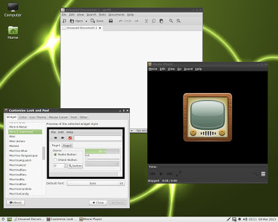 MintPPC GTK3 theme