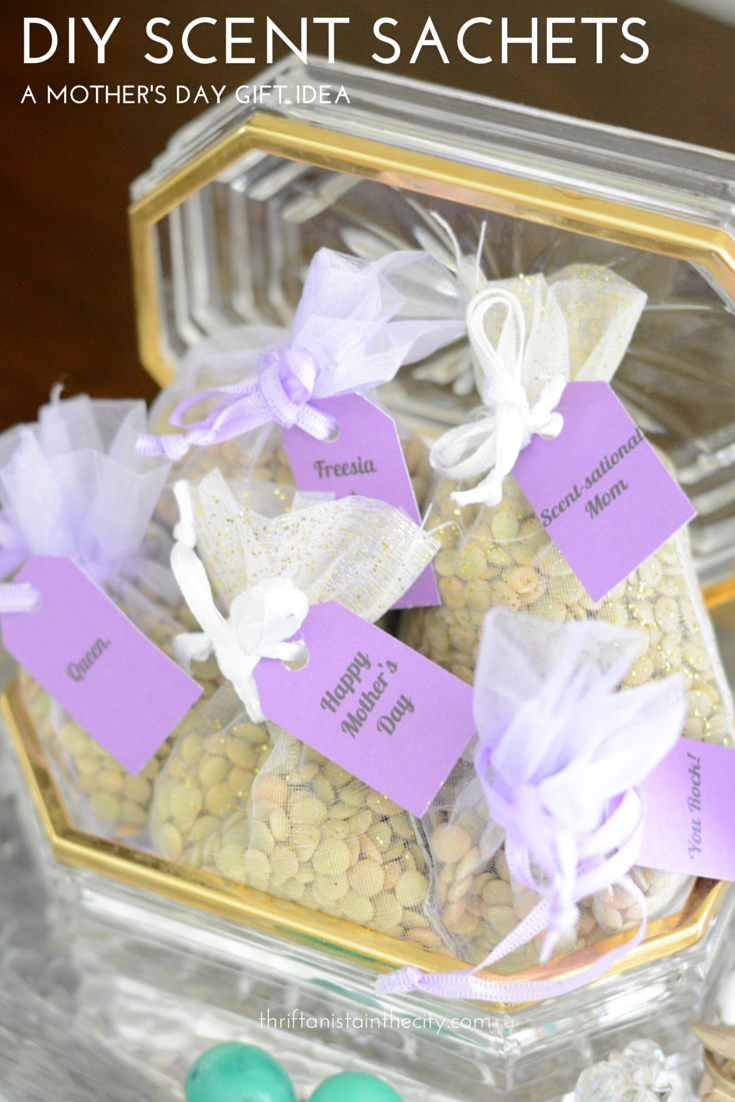 diy scent sachets for Mother's Day #shop