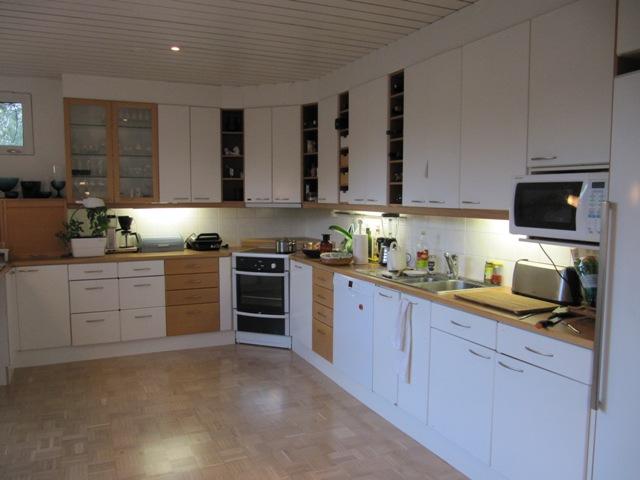 Keittiön yläkaappien korkeus – Lähellä tulisija