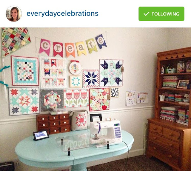 Five Friday Favorites: sewing room inspiration from Everyday Celebrations