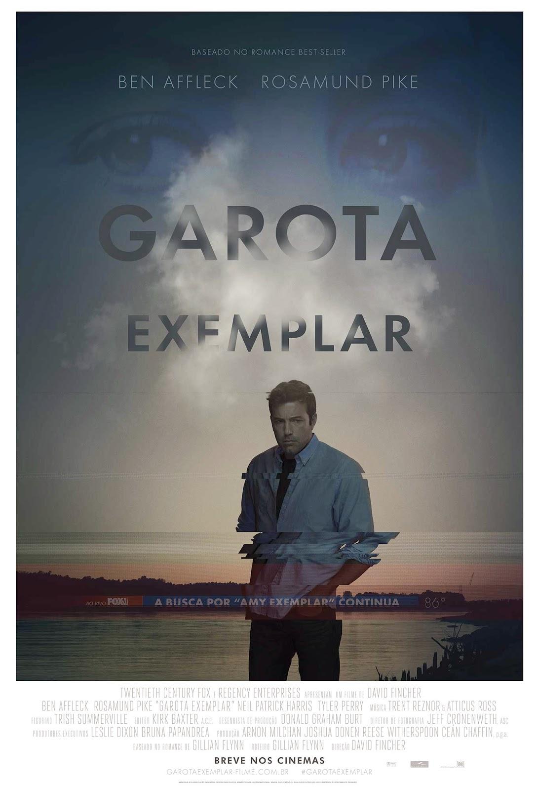 Pôster/capa/cartaz nacional de GAROTA EXEMPLAR (Gone Girl)