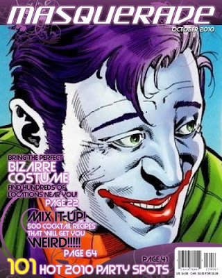 Cover of Masquerade featuring the Jokester