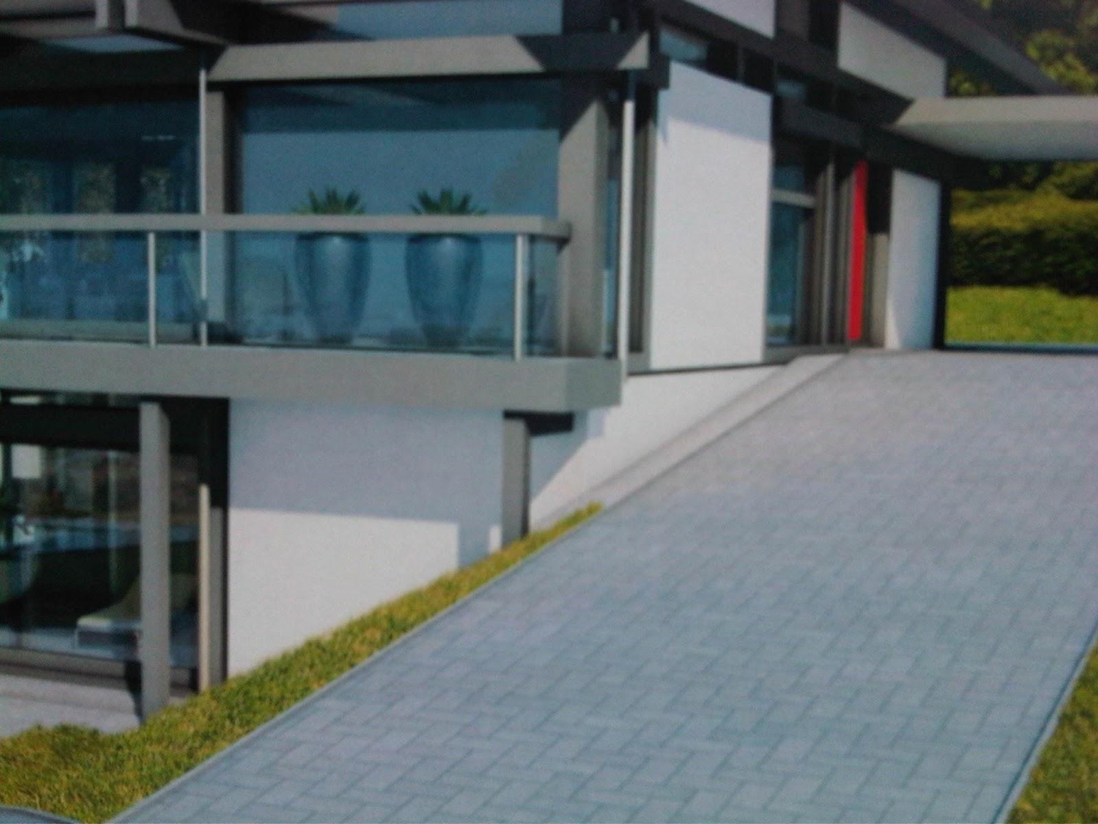 ein huf haus fuer die oberlausitz die steilste auffahrt. Black Bedroom Furniture Sets. Home Design Ideas