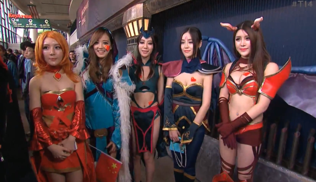 Chinese Cosplay Girls Dota 2