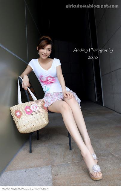 Li-Fan-Pink-and-White-04-very cute asian girl-girlcute4u.blogspot.com