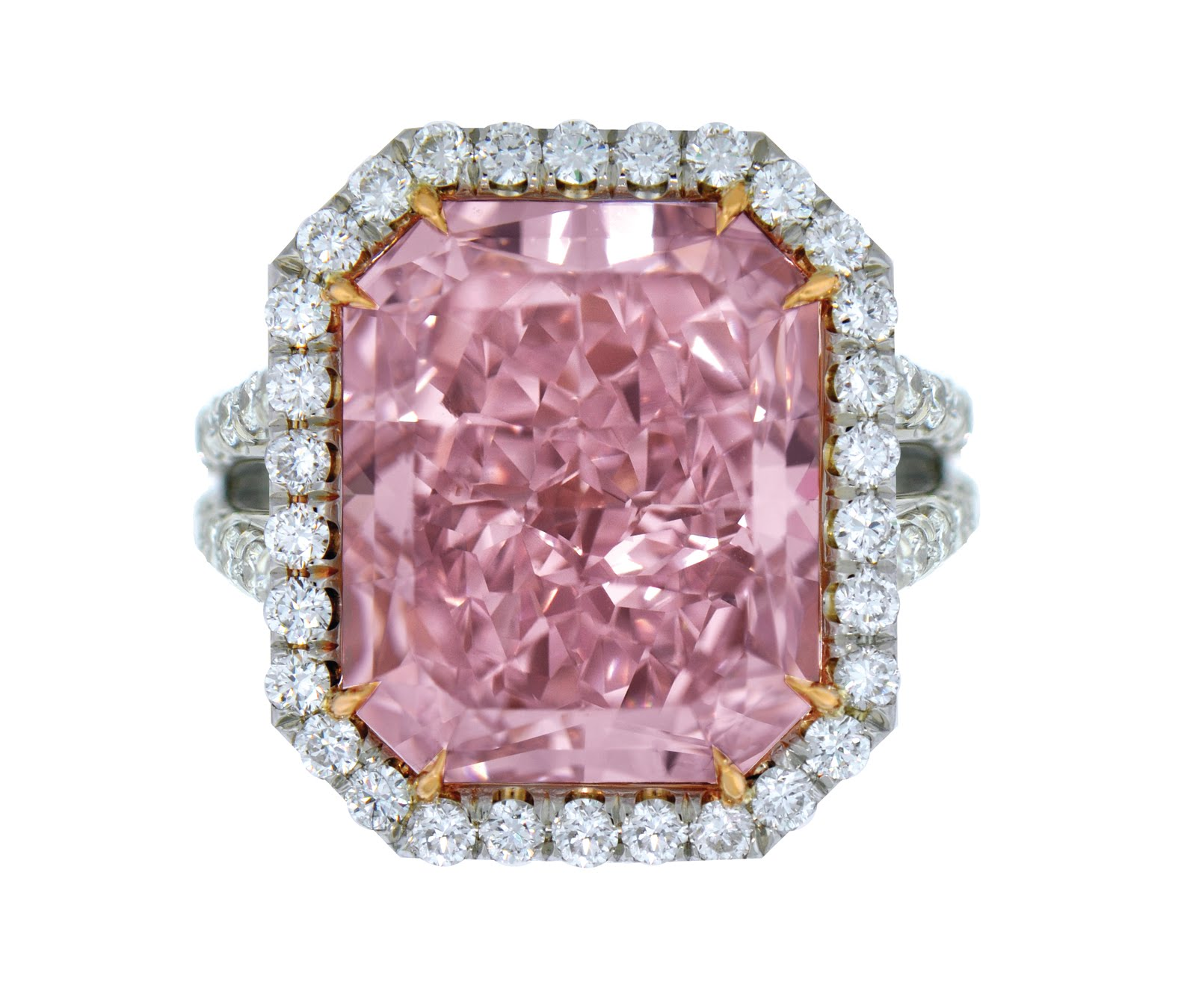 Jewelry News Network: Supersized Fancy Colored Diamond Rings from