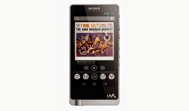 Sony Walkman ZX1 Pemain MP3 Premium Andriod Bagi Untuk 2013