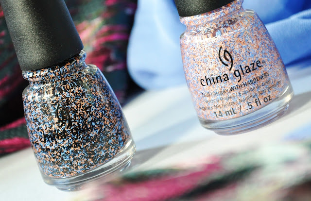 Party Fowl и All a Flutter CHINA GLAZE On the Horizon