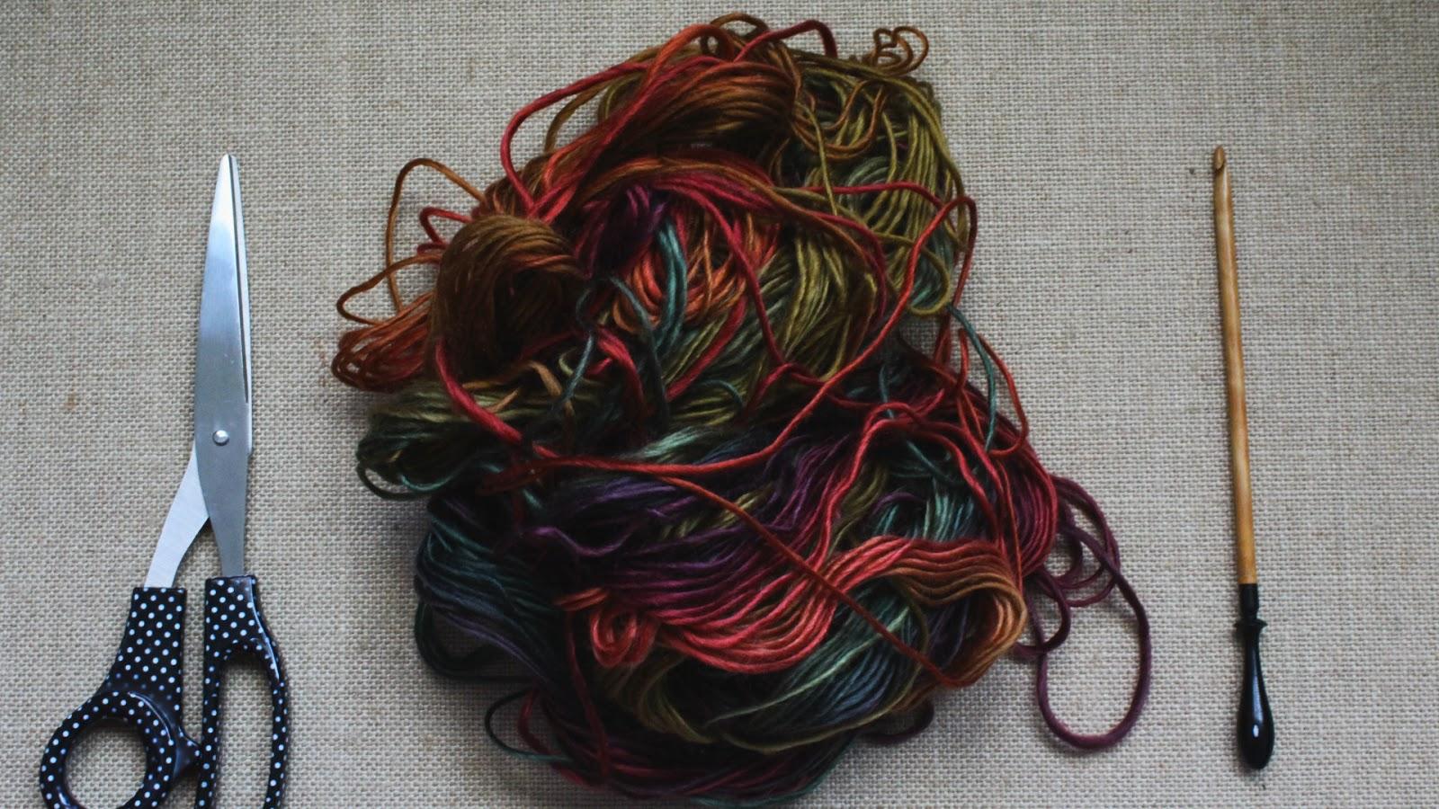 the dream crochet blog.: DIY: Super Easy Autumn Crochet Scarf ...