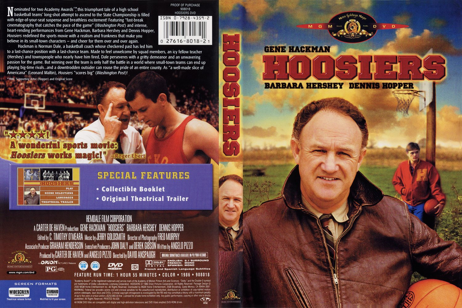 Hoosiers movie screenplay