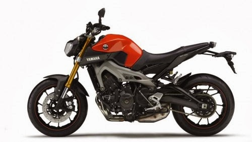 YAMAHA MT-09 ABS 2015