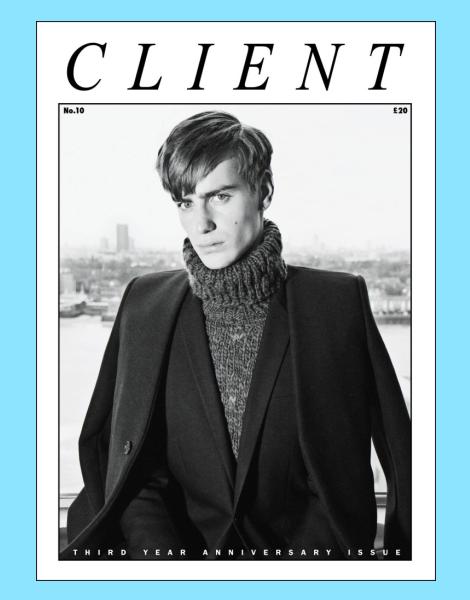 Ben Allen by Ian Cole for Client Magazine No.10