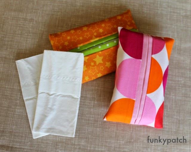 Sencillo tutorial para hacer una funda para pañuelos de papel de funkypatch