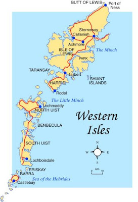 Map of Western Isles Province