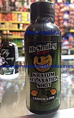 Mr Smiley Kratom Relaxation shot with Lemon-Lime at Pars Market Columbia Maryland 21045
