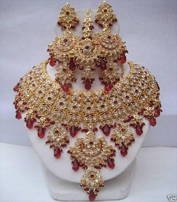 bridal gold design