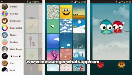 Diseños y fondos bonitos con Wallpapers for Chat WhatsApp